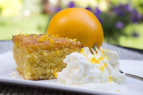 4 x Orange and Polenta Cake