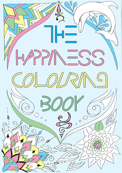 The Happiness Colouring Book & Journal