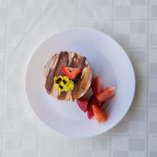 Chocolate Mousse Non Vegan Dessert
