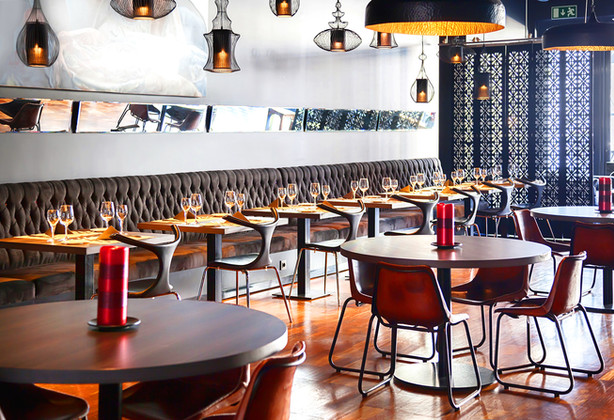 Restaurant Interior Rendeing