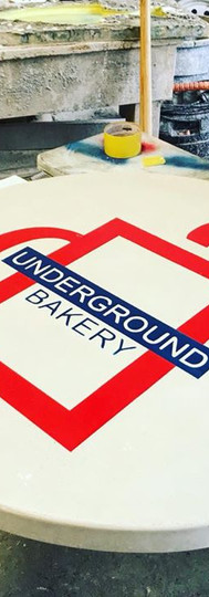 Table for the Underground Bakery