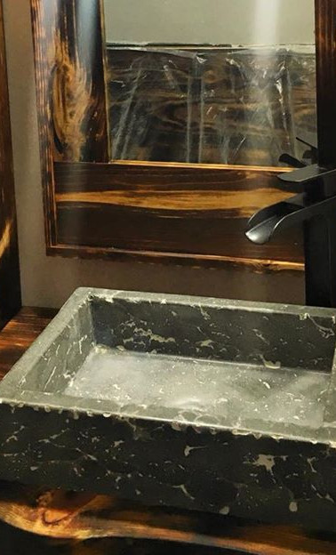 Custom vessle sink