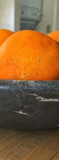 A concrete fruit bowl from Elements
