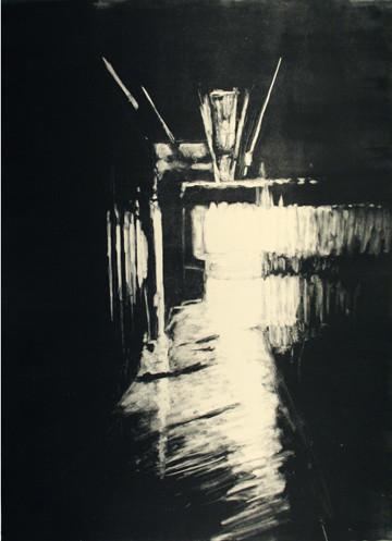 """Transient Light"", monotype, 2008"