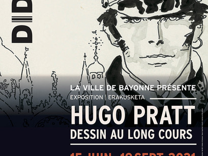 Hugo Pratt, au Didam à Bayonne !