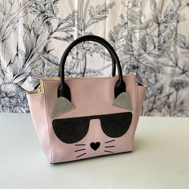 3.  Betsy Johnson Cat Handbag
