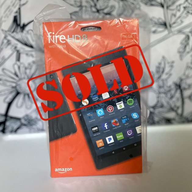 """29. Fire HD8 (16 GB) 8"""" display Tablet with Alexa"""