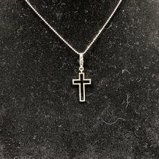 Open Work Cross Necklace