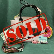 2.  Betsy Johnson Cat Bag