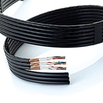 Polyurethane Tube Built-in Shielded Electric Cable