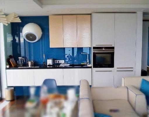 Кухня подвесная