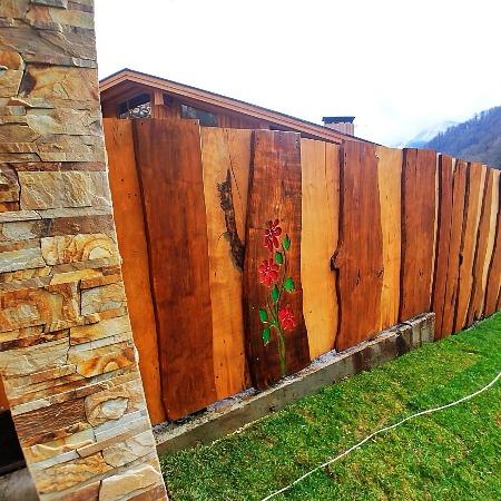Забор из кипариса
