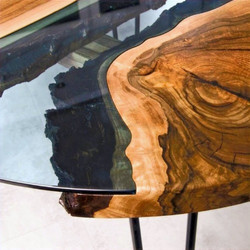Дерево и стекло
