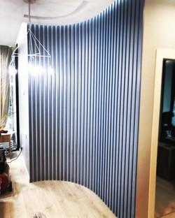 Стеновая реечная панель