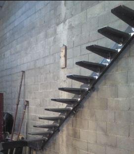 Лестница металл