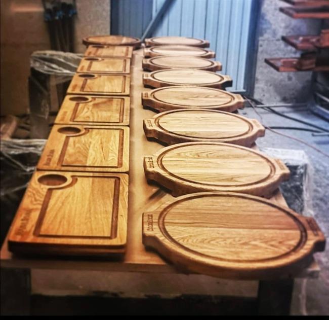 Изделия из дерева для ресторана