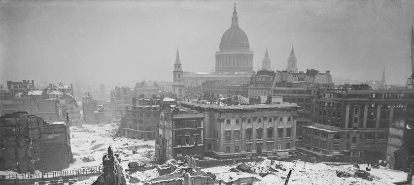 Bombed Out London 1942© IWM (D 6412)