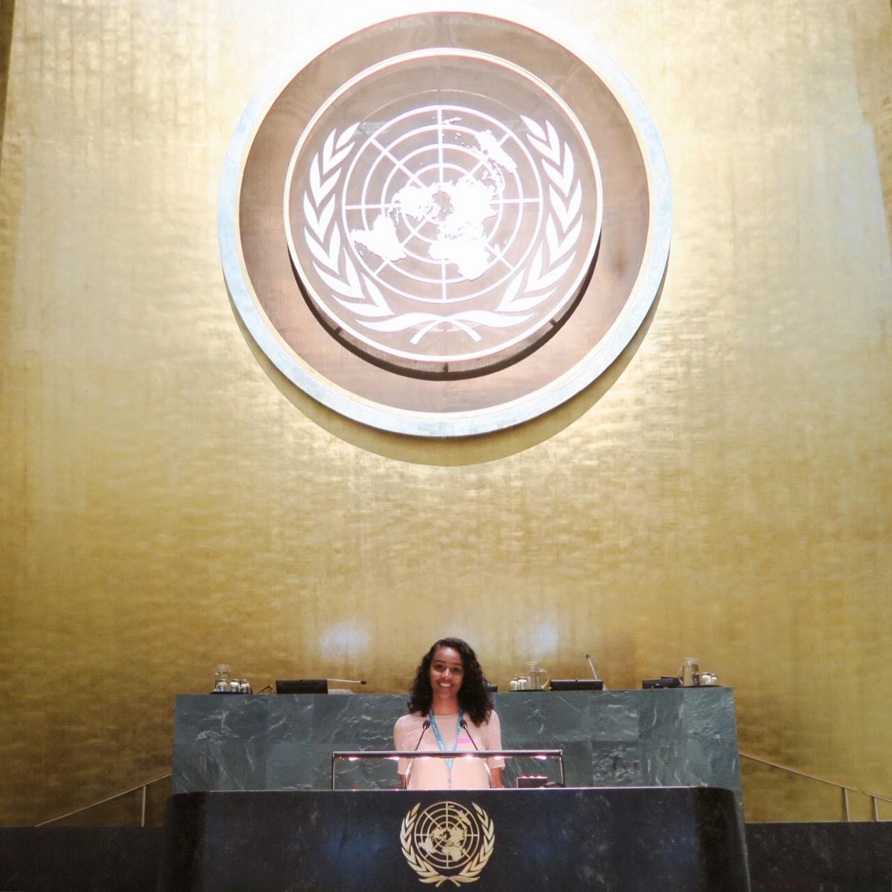 Abir Ibrahim United Nations