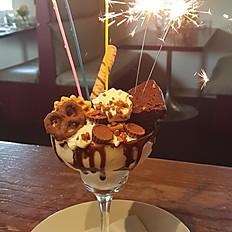 Birthday Chocolate Explosion Dessert