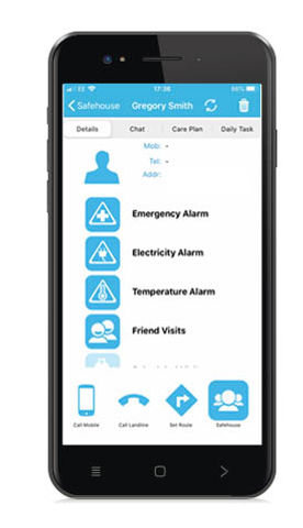 Safehouse Mobile App