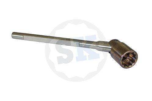 IMN 24mm All Titanium Bi-Hex Spanner Flat