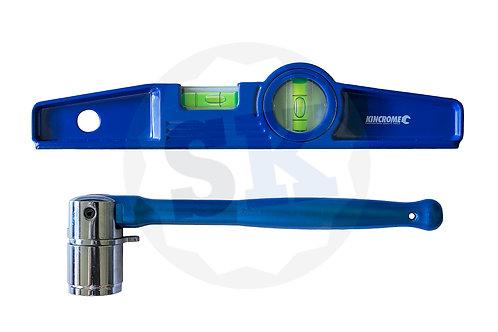 BLUE Spanner & Level Combo
