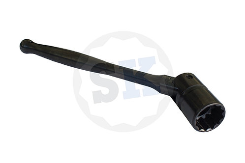 SCAFFKiT ScaffSpanner 23.5mm Bi-Hex Black