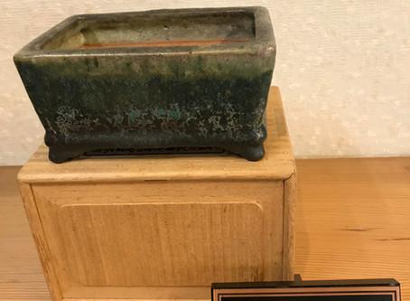 東福寺緑釉長方