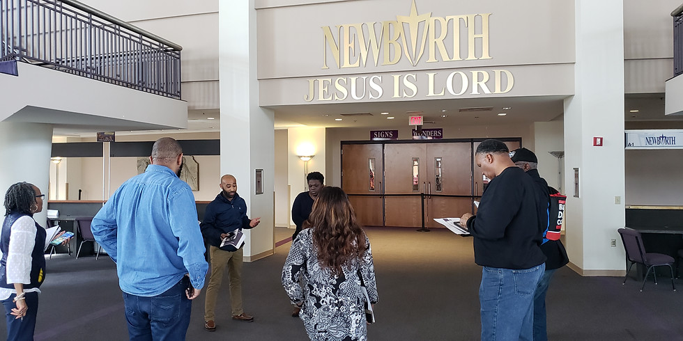 Black Dads Count Outreach at New Birth Missionary Baptist Church