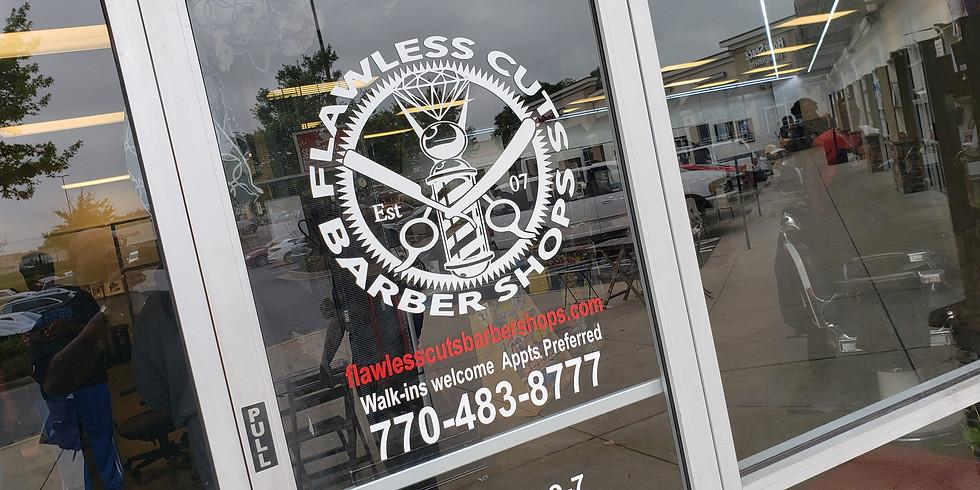 Statistically Speaking at Flawless Cuts II Barbershop