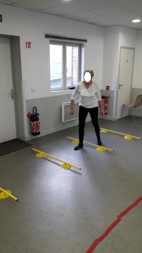 Atelier équilibre et prévention de la chute