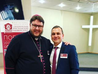 Представитель ЕЛЦАИ принял участие в научно-богословской конференции СПбХУ