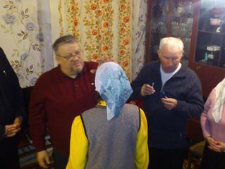 Визитация епископа Ивана Сухарева в Ижевск и Ягул