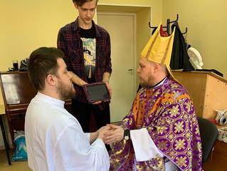 В Санкт-Петербурге рукоположен Новый диакон