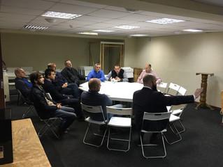 Рабочая встреча служителей Московского Церковного Округа ЕЛЦАИ