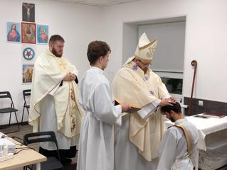 Рукоположены новые служители ЕЛЦАИ. Новый пресвитер и епископ.