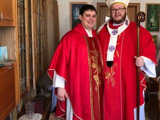 В ЕЛЦАИ рукоположен новый пастор.