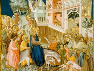 C праздником Торжественного Входа Господа Иисуса Христа в Иерусалим!