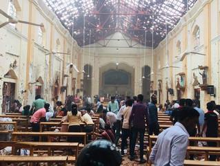 Скорбим о погибших в Шри-Ланке!