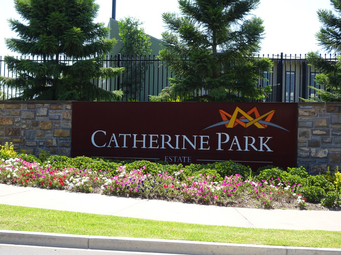 Catherine Park Sign