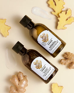 Bodyshop_Ginger hair care range_antidand