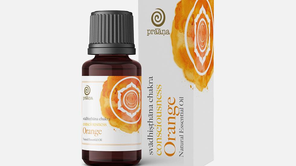 CONSCIOUSNESS: Orange Natural Essential Oil (Svādhiṣṭhāna Chakra)