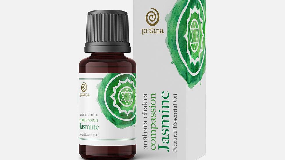 COMPASSION: Jasmine Natural Essential Oil (Anāhata Chakra)