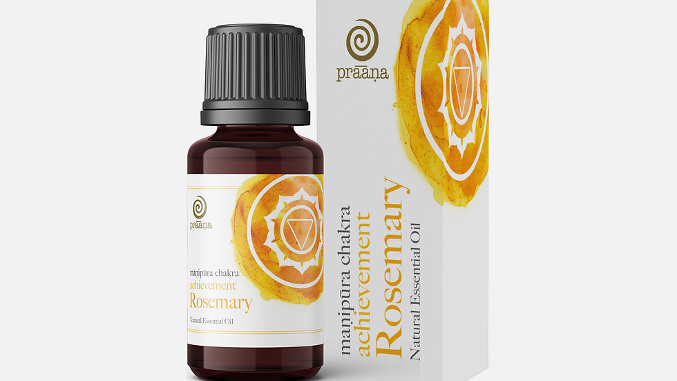 ACHIEVEMENT: Rosemary Natural Essential Oil (Manipūra Chakra)