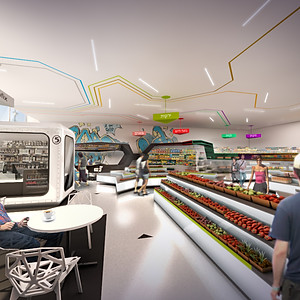 Tel Aviv - Supermarket proposal