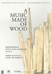 Niocolas Jacquot- A Music Made Of Wood