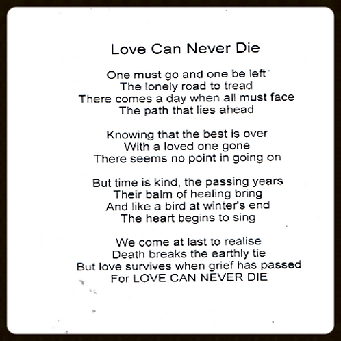 Love Can never Die