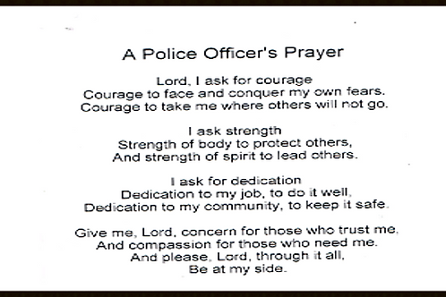 A Policemans Prayer