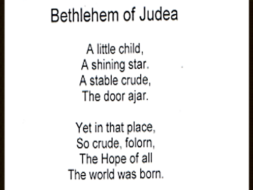 Bethlehem of Judea