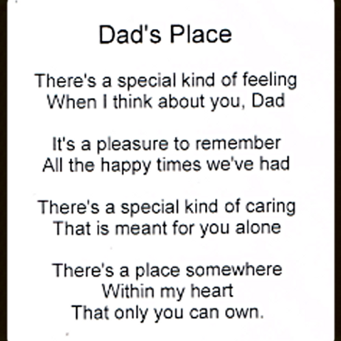 Dads Place